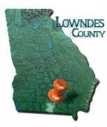 Lowndes County Map